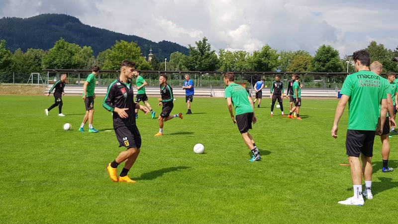 Trainingsauftakt I